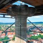 Sanierung Domturm St. Martin, Rottenburg a.N.,  (2011/2012)