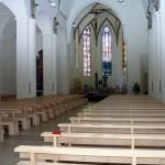 Innenrenovierung Dom St. Martin, Rottenburg, Planung: Hahn Helten Architekten, Objektüberwachung: Duttlinger + Ulmer (2003)