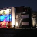 """Neubau Bürogebäude mit Penthouse """"Die Wortwerkstatt GmbH"""", Kusterdingen (2005)"""